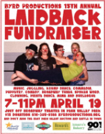 15th Annual Laid back Fundraiser